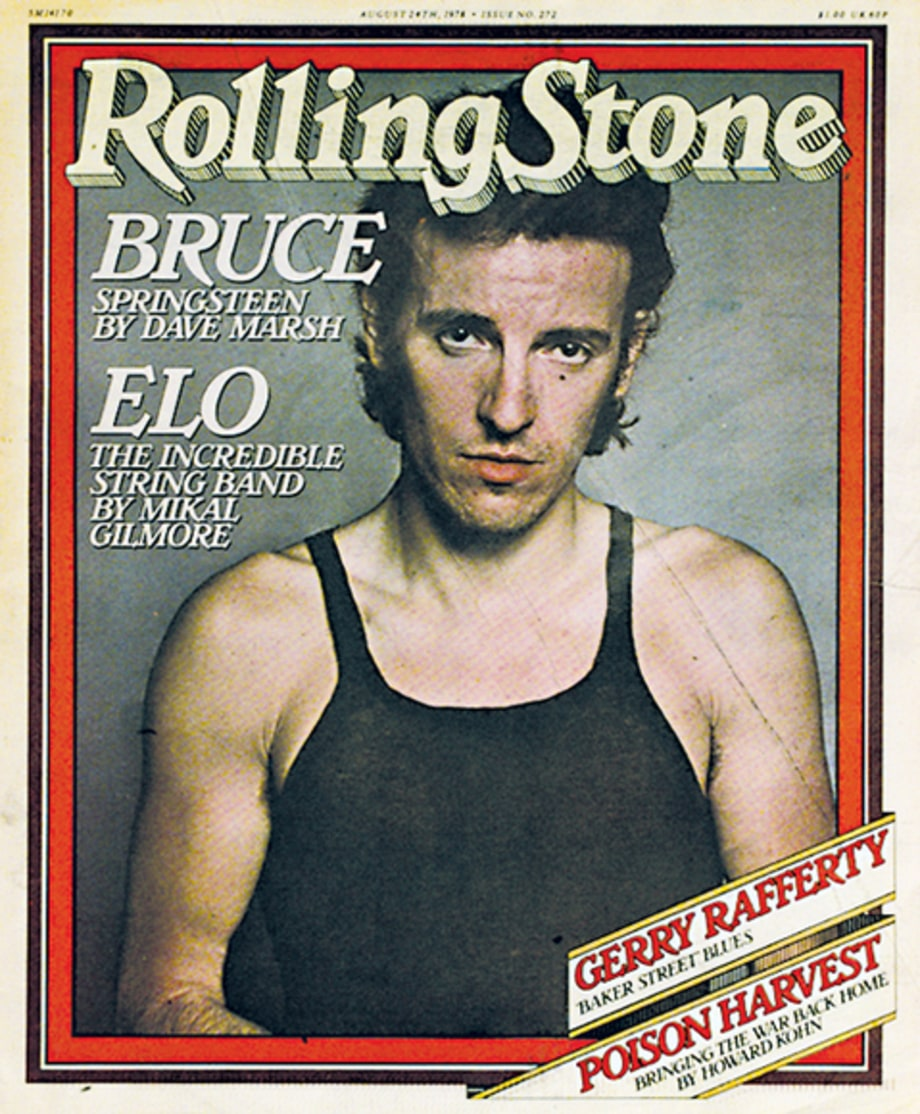 Mick Jagger, Bruce Springsteen, and Bono on the Cover of Rolling Stone