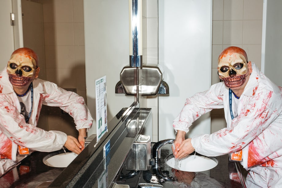 Zombie at the Sink
