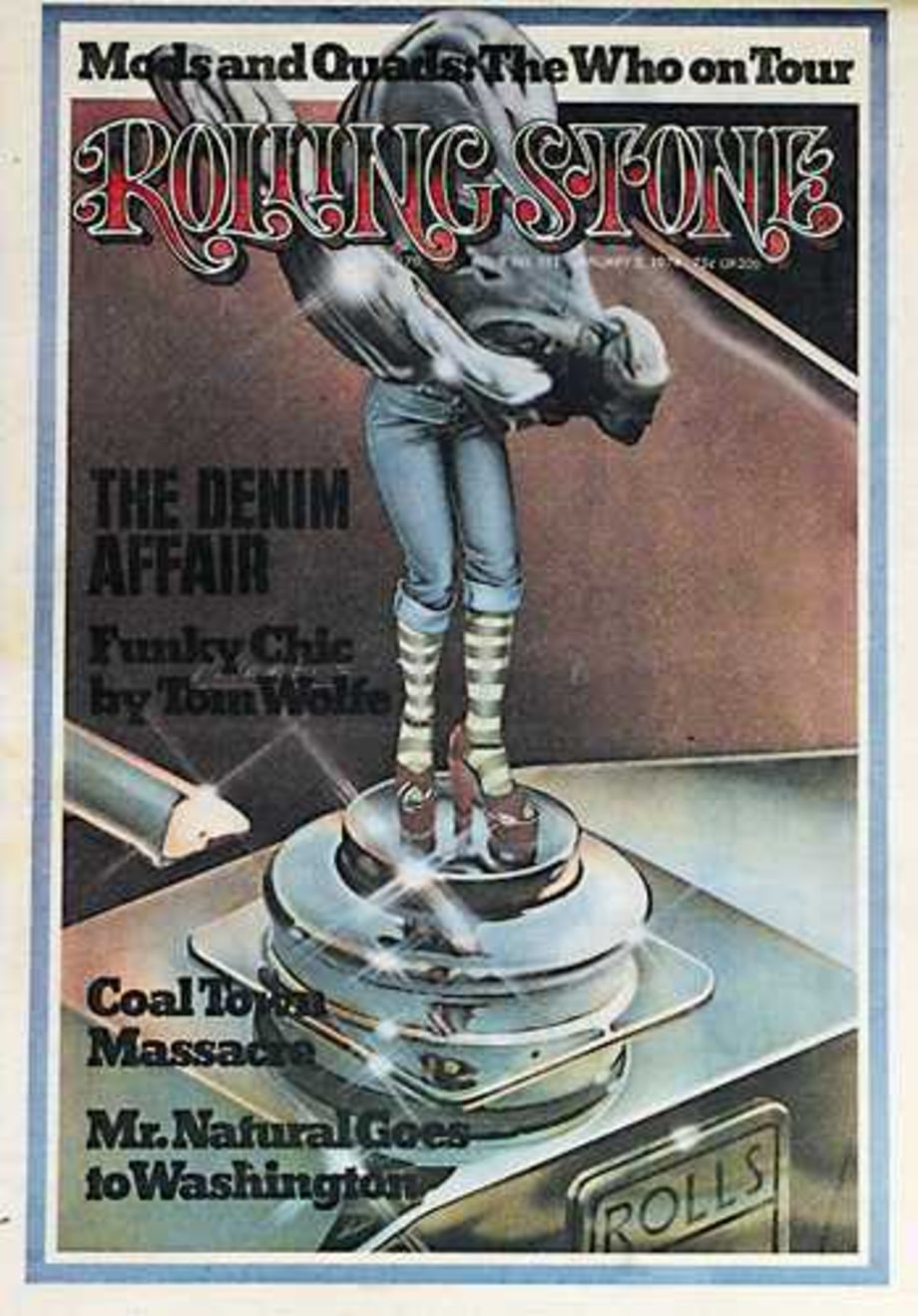 1974 Rolling Stone Covers