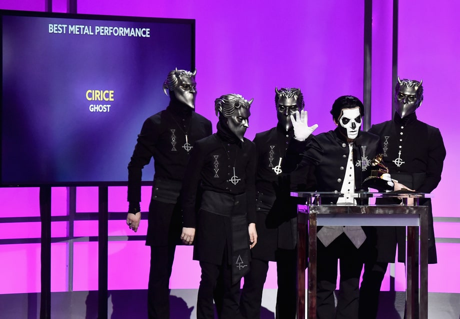 And the Best Metal Performance Grammy Goes to ...