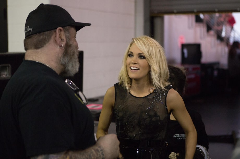 Carrie Underwood: See Backstage Photos of 'The Storyteller Tour'