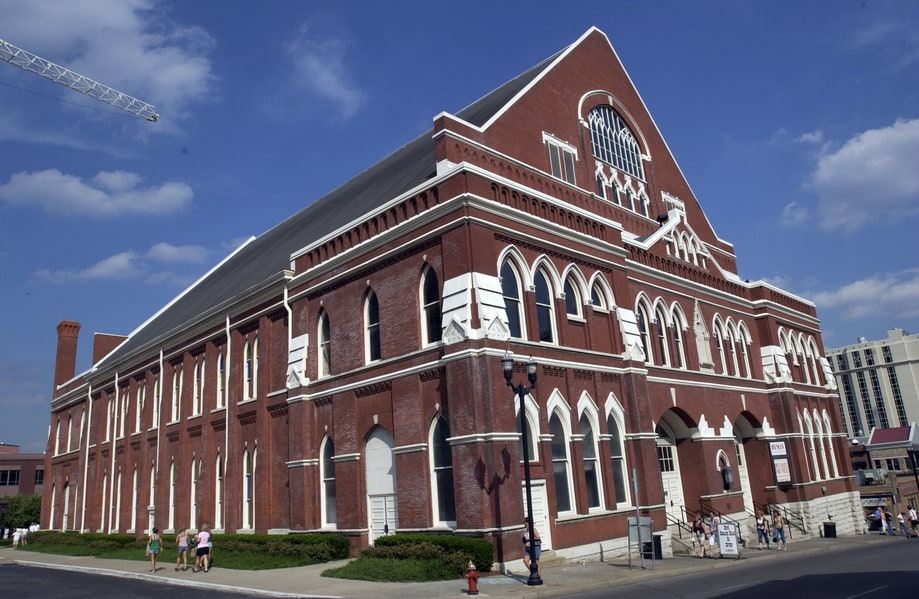 Ryman Auditorium in Nashville, TN