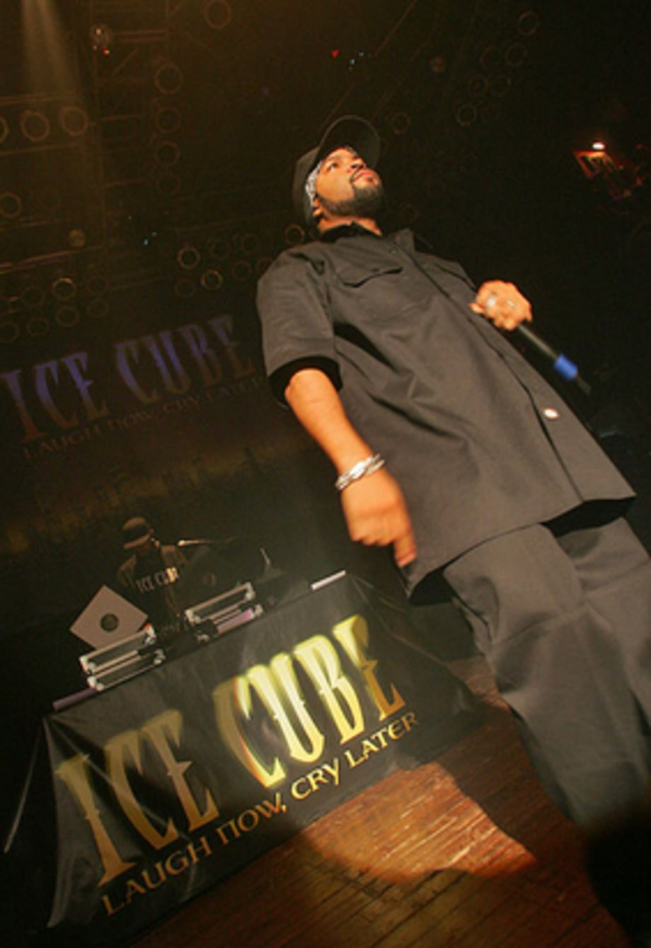 Actor, Rapper: Ice Cube Onstage
