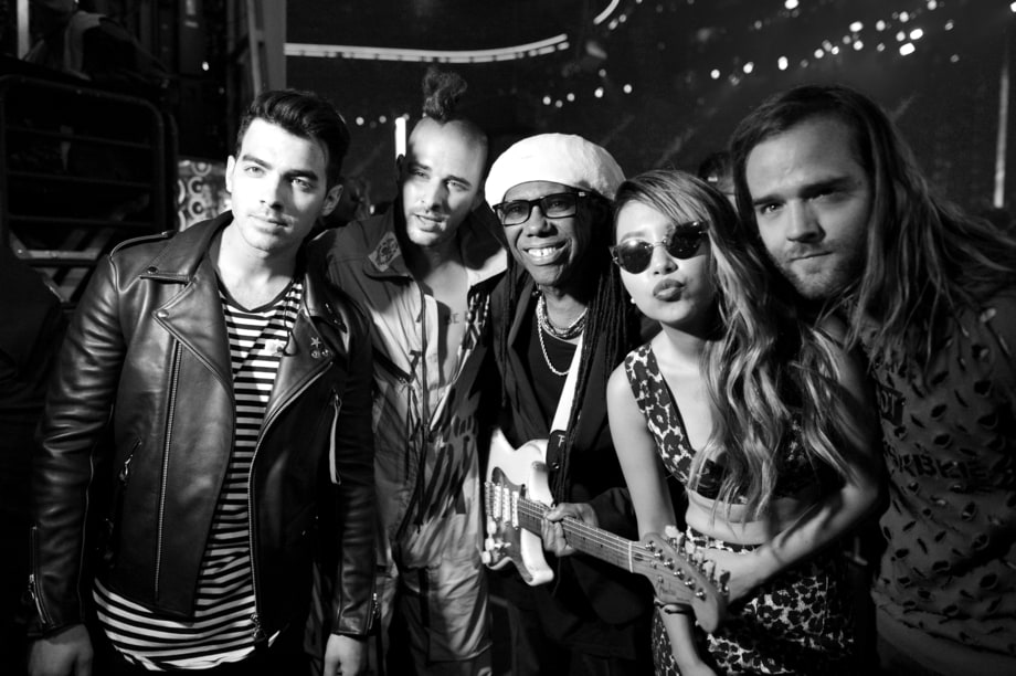 DNCE and Nile Rodgers