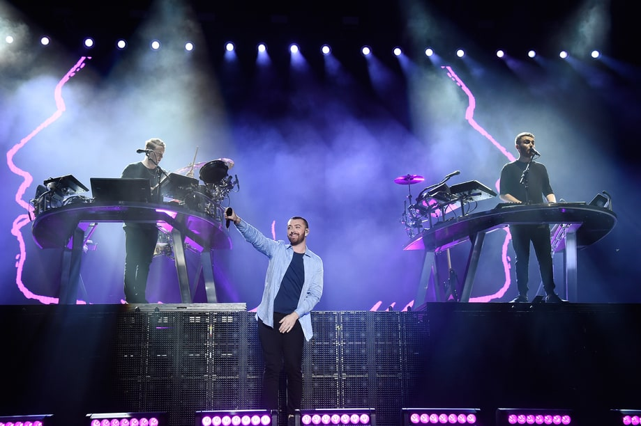 Sam Smith With Disclosure