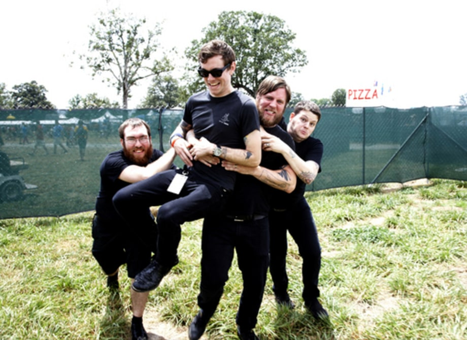 Backstage at Bonnaroo 2008