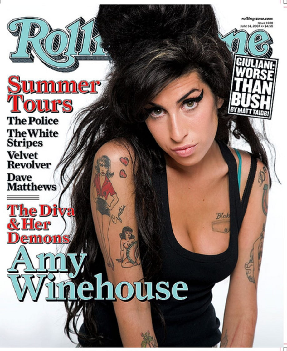 The Tumultuous Life of Amy Winehouse
