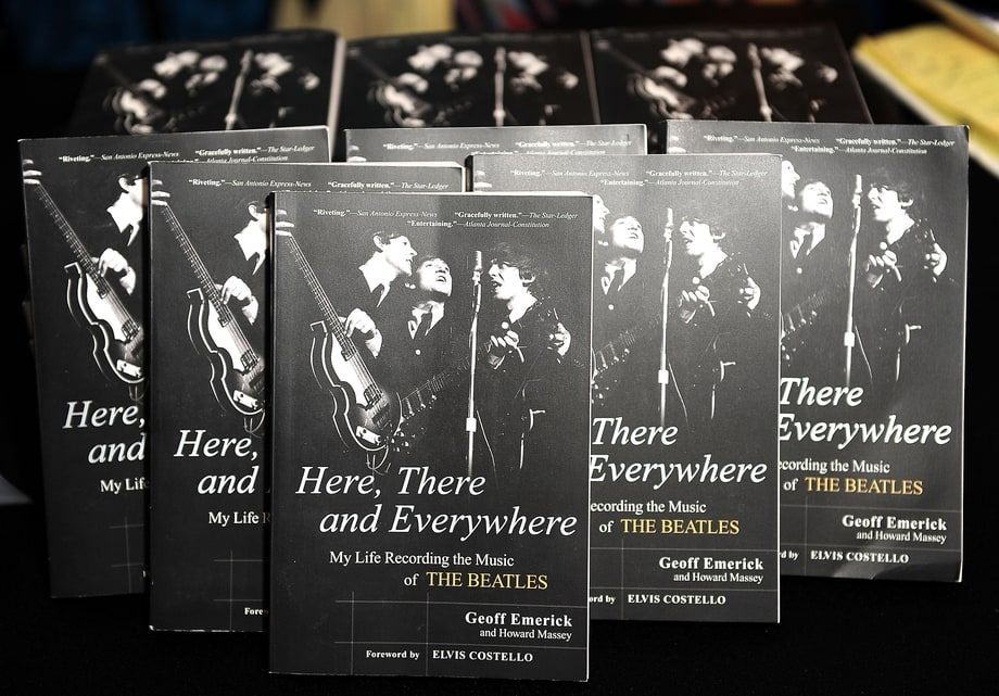 'Here, There and Everywhere: My Life Recording the Beatles,' by Geoff Emerick