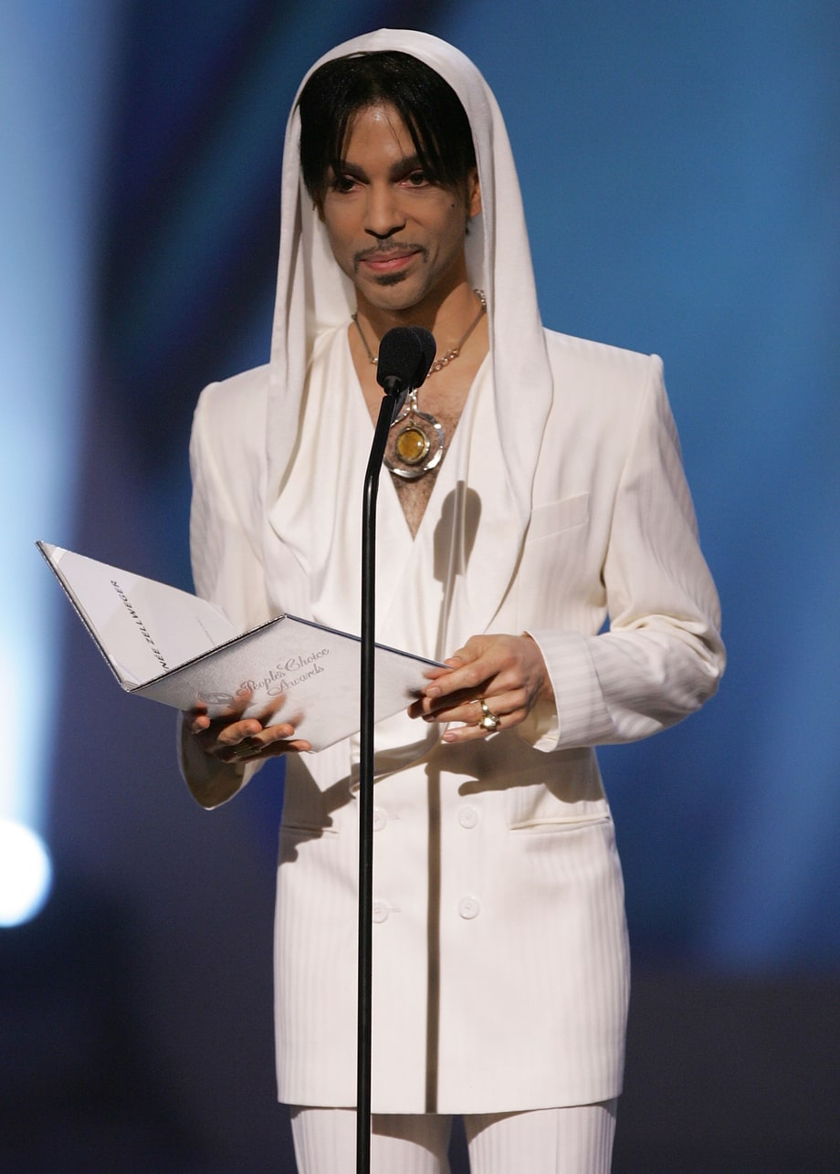 White Hood at 2005 People's Choice Awards