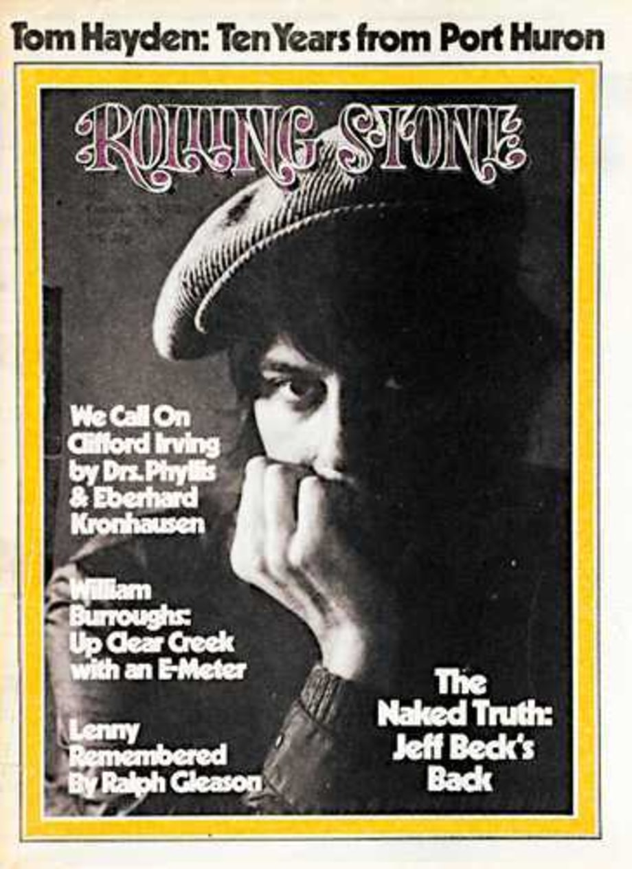 1972 Rolling Stone Covers