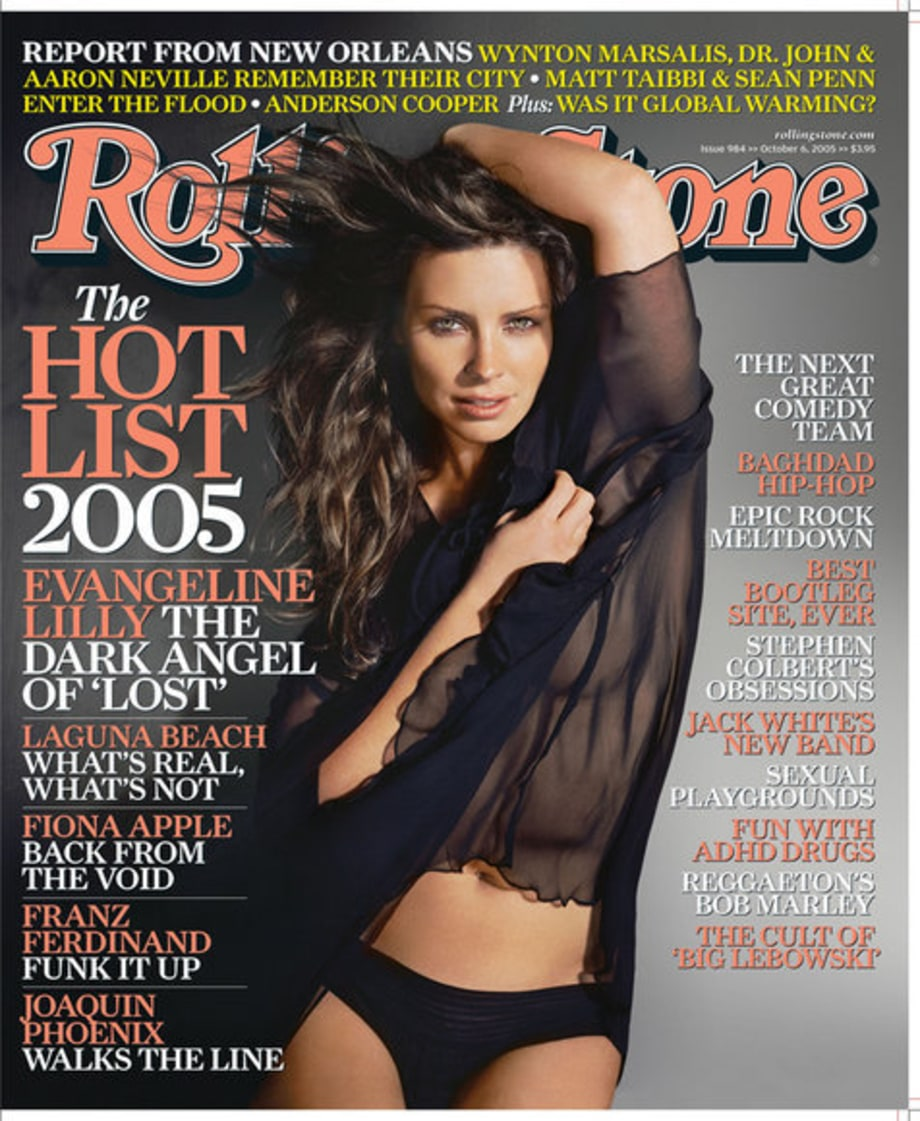 Getting Naked: Big Names Show Some Skin on the Cover of Rolling Stone