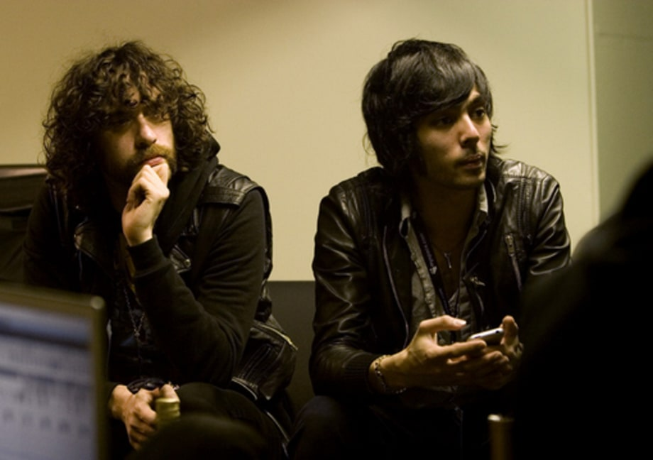 Justice: Backstage and Onstage With Diplo in Seattle on March 24, 2008