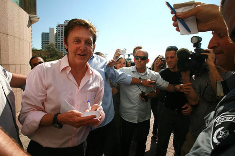 Paul McCartney Plays Tel Aviv, Israel