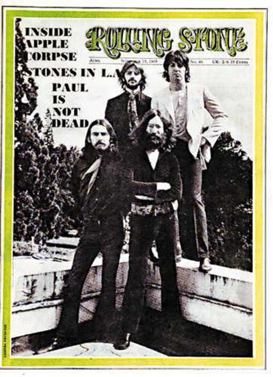 1969 Rolling Stone Covers