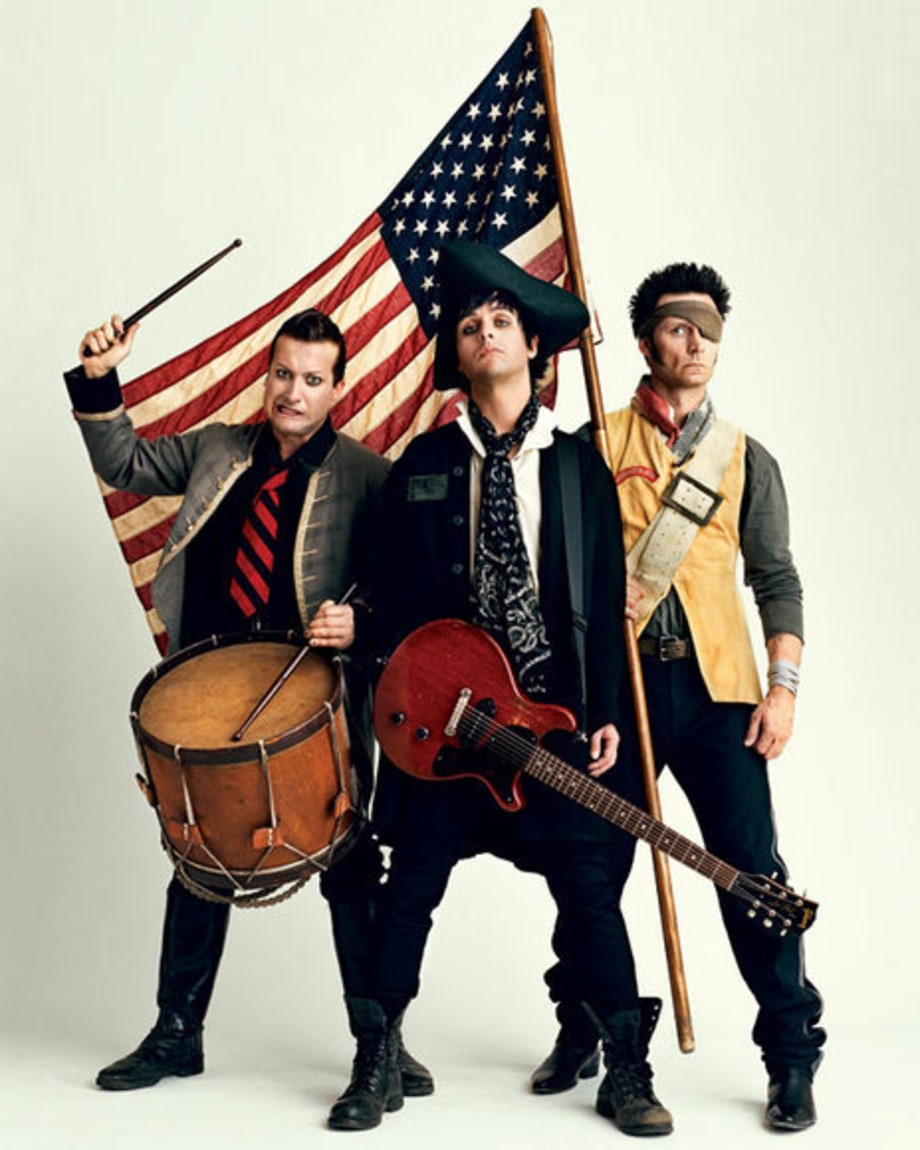 Green Day: The Rolling Stone Cover Shoot