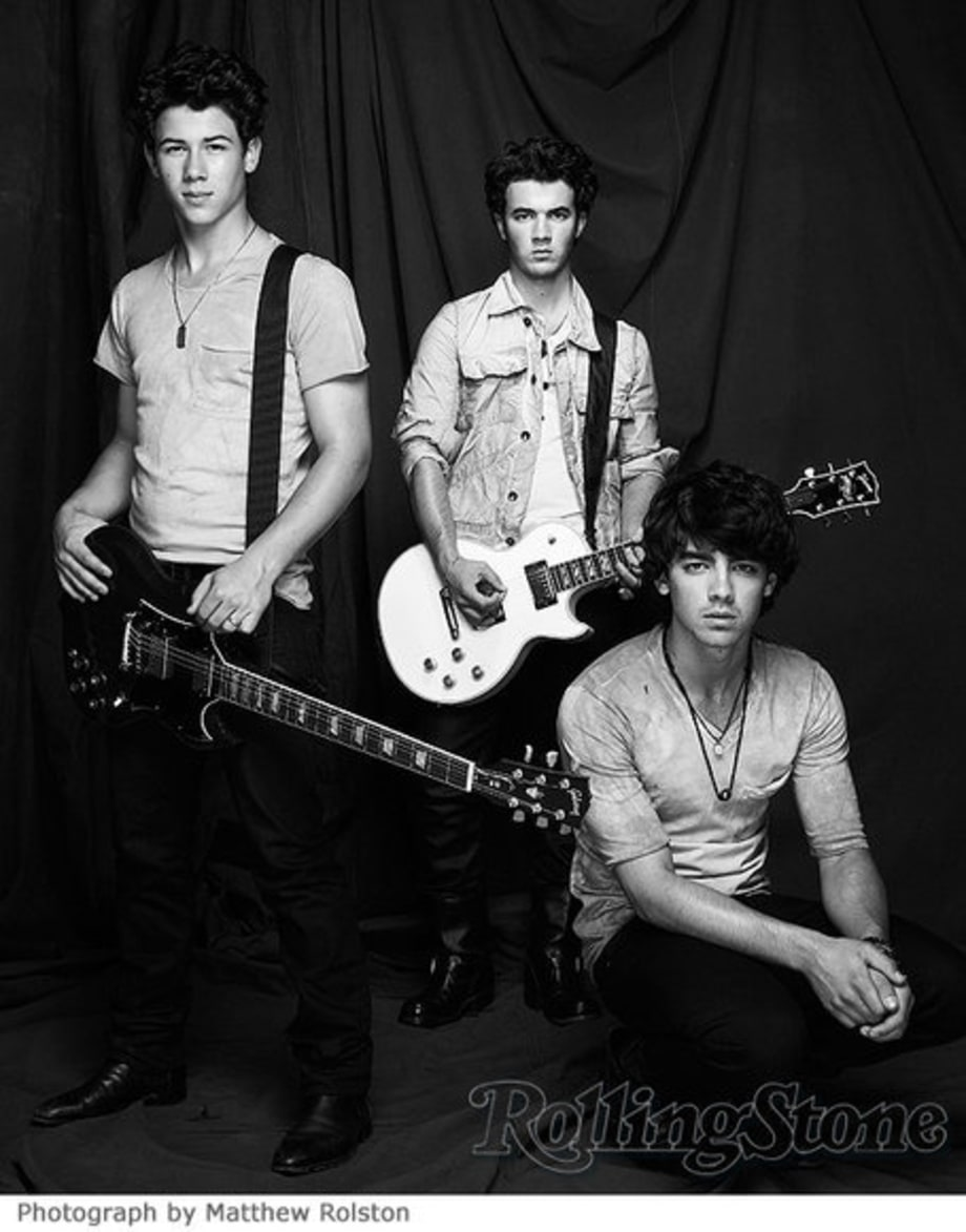Jonas Brothers' Rolling Stone Cover Shoot: The Boys Grow Up