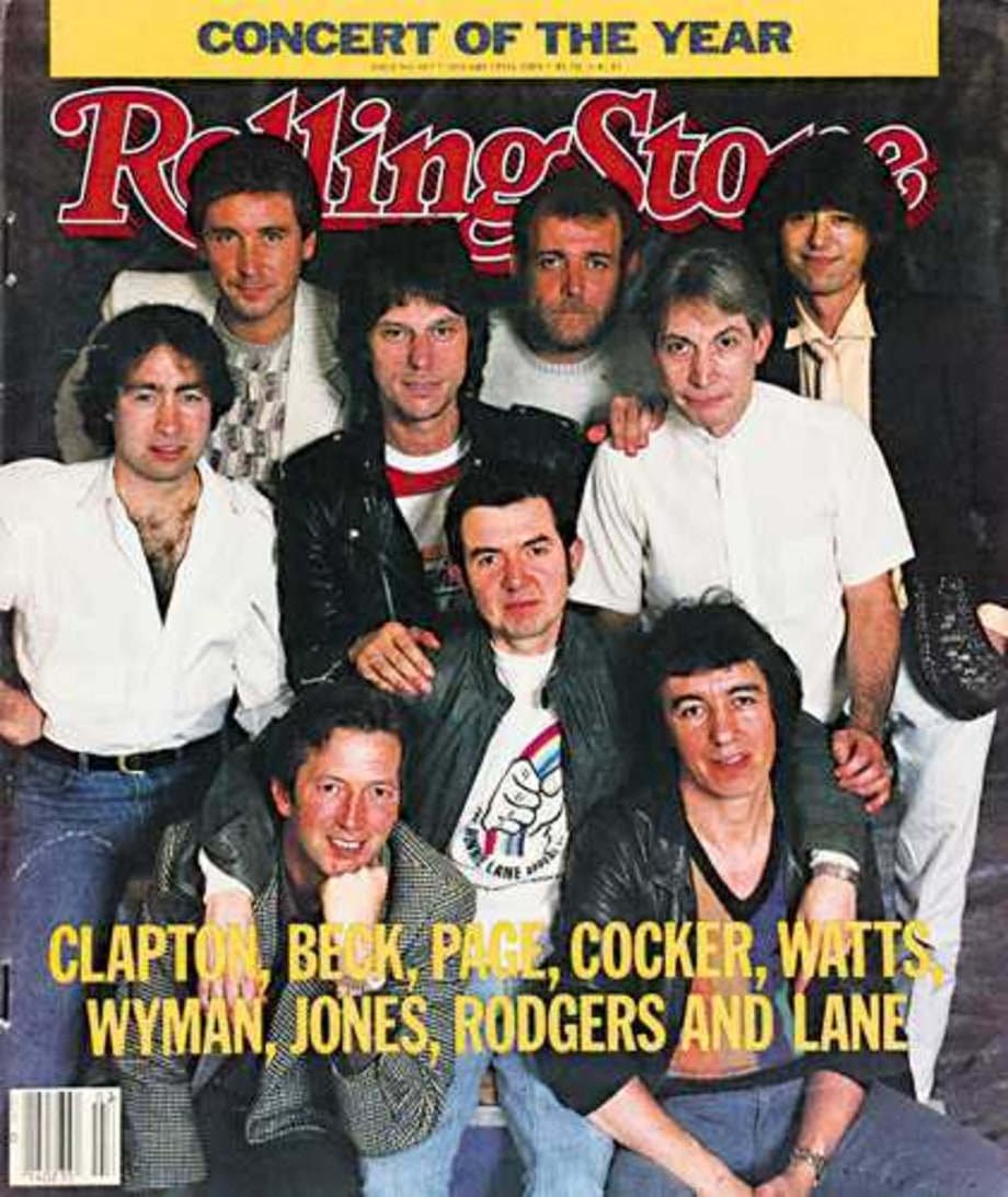 1984 Rolling Stone Covers