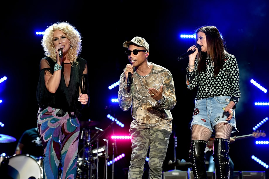 Best Call for Unity: Little Big Town with Pharrell Williams