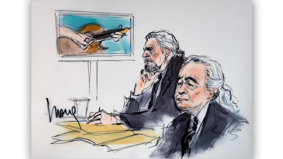 See Inside Led Zeppelin's 'Stairway' Trial With Courtroom Illustrations