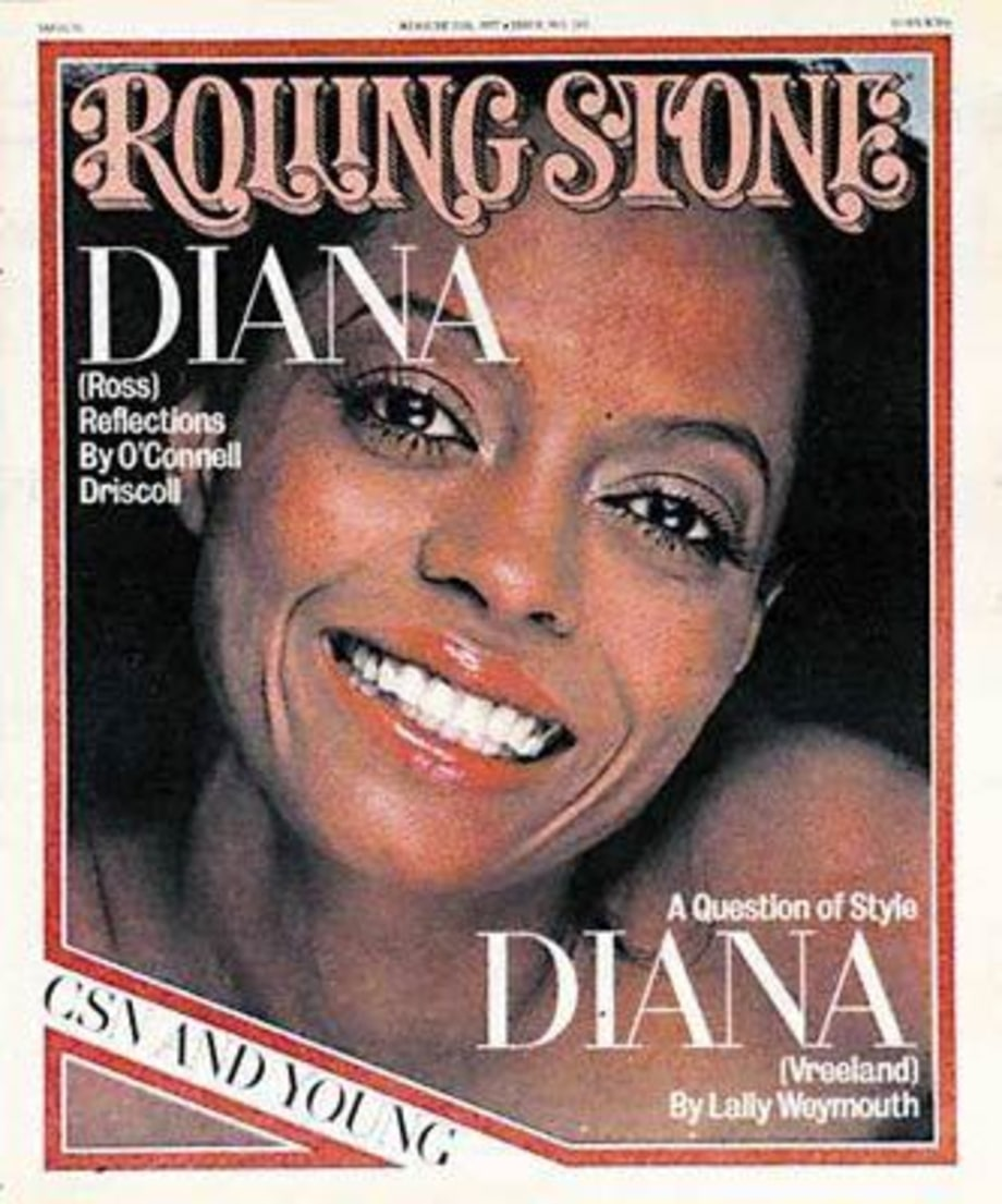 1977 Rolling Stone Covers