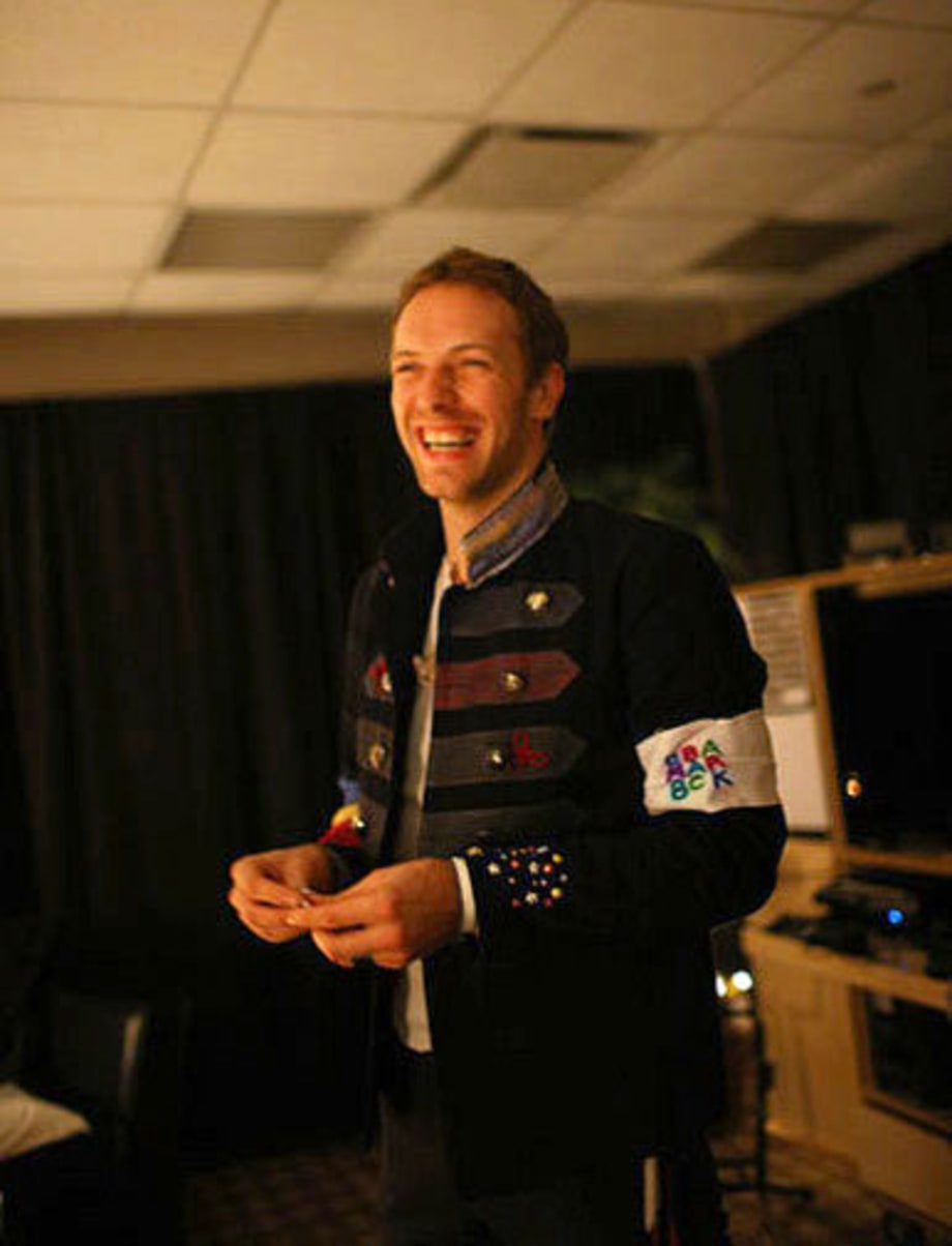 Backstage With Coldplay: Exclusive Shots From the