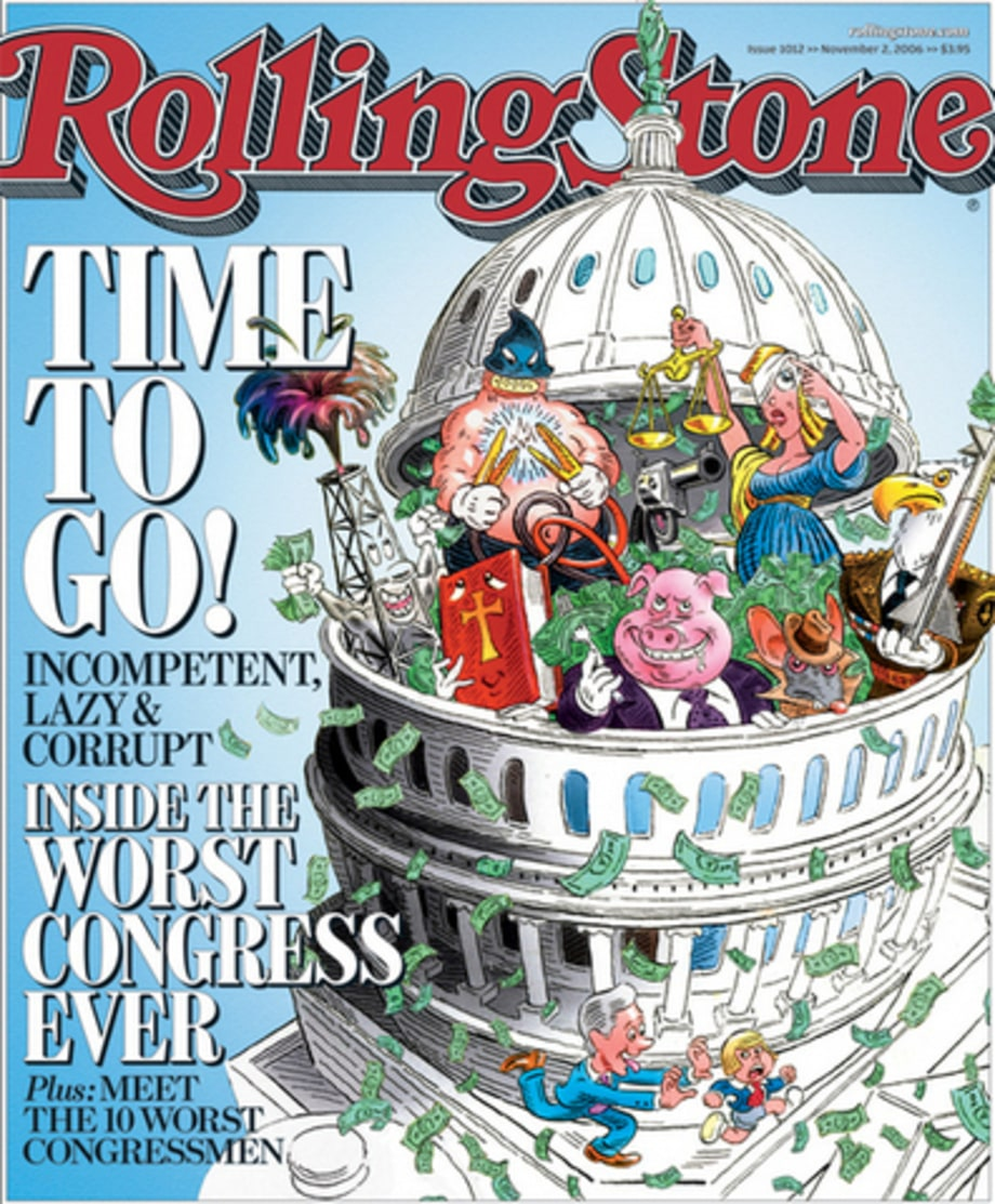 Rolling Stone's Political Covers