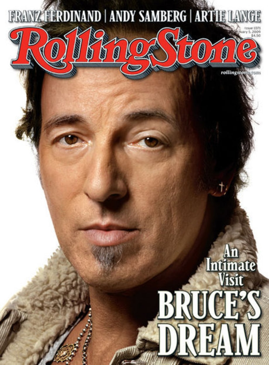 Inside Bruce Springsteen's Rolling Stone Cover Shoot