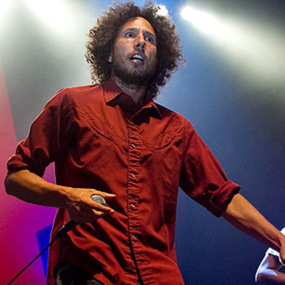 Rage Against the Machine Rock for Immigrants' Rights in California