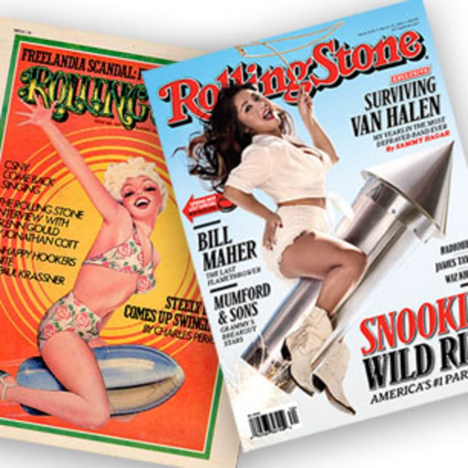 Rolling Stone Covers Inspired by Earlier RS Covers