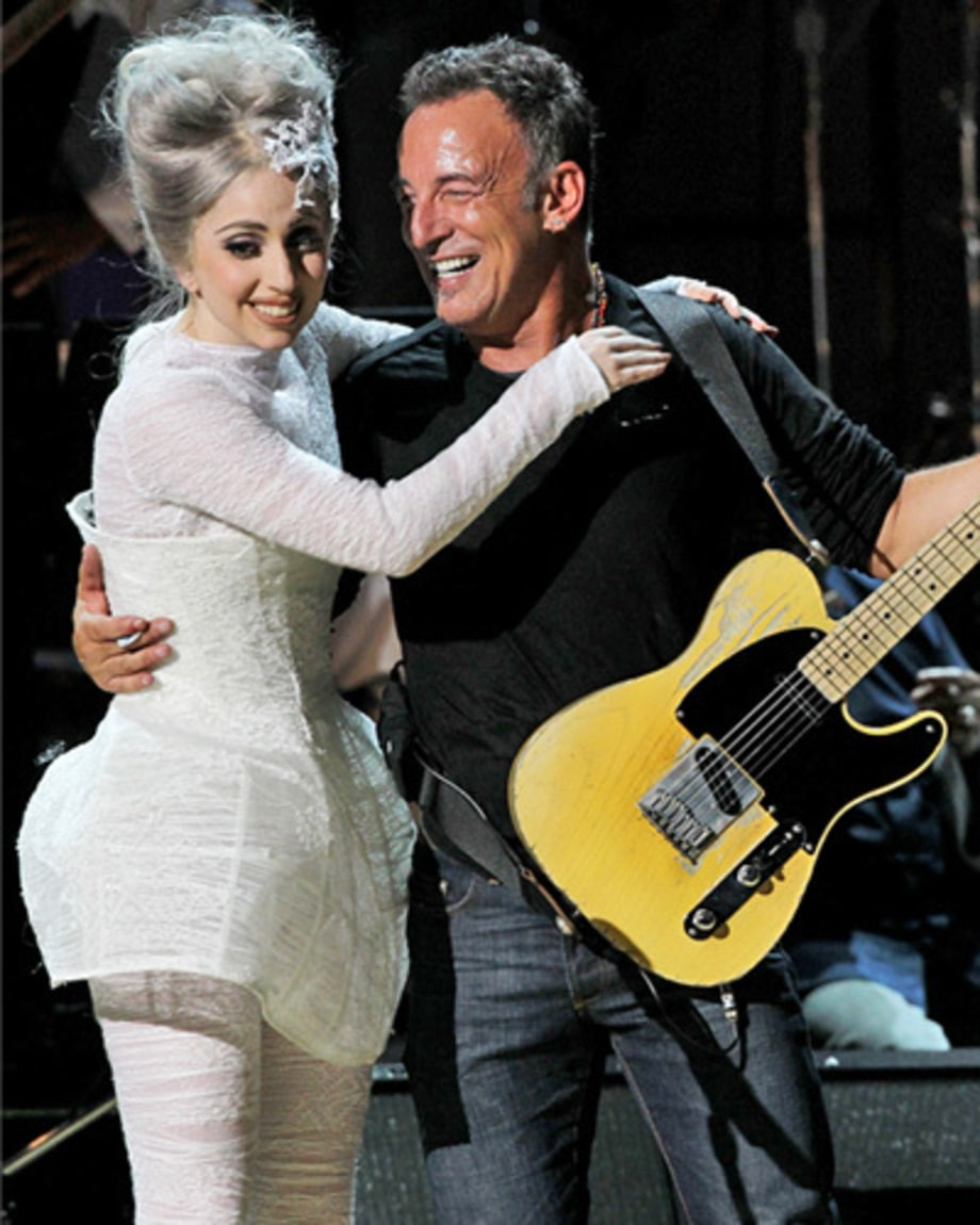 Springsteen, Lady Gaga, Elton John and Sting Team Up for Rainforest Fund Gala