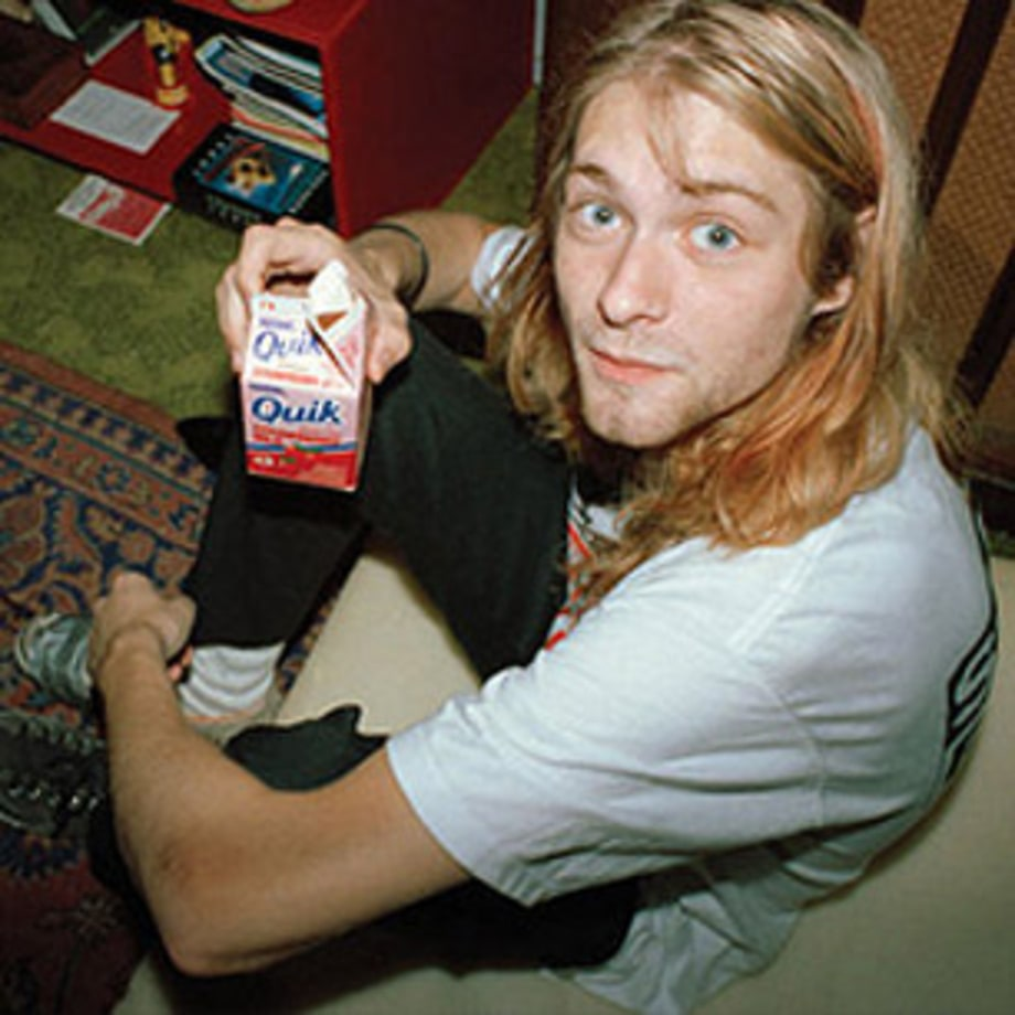 Kurt Cobain: Rare Images, Artwork, and Journal Entries