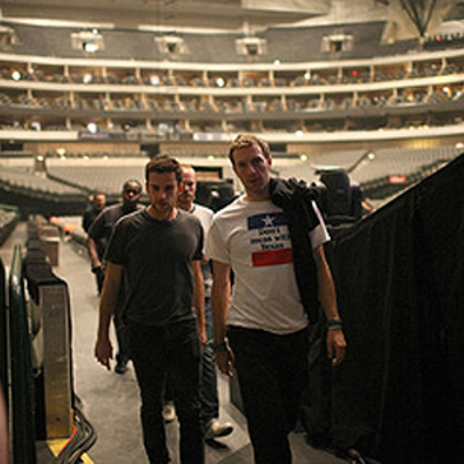 Backstage With Coldplay