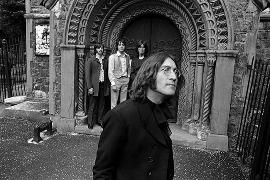 Photos The Beatles Romp Through London In 1968 Rolling