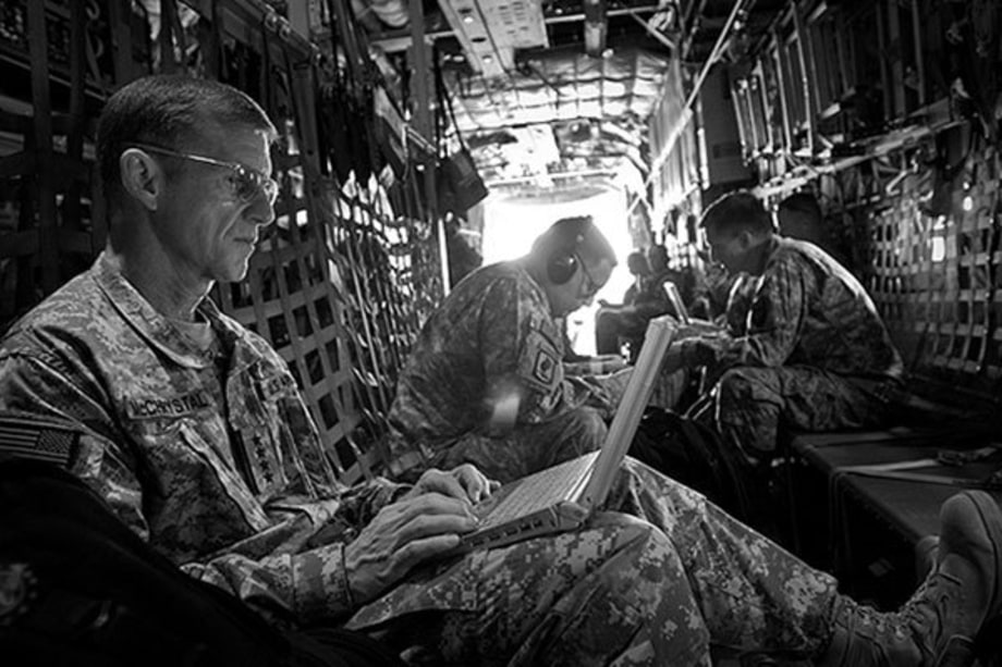 On the Ground With Runaway General Stanley McChrystal