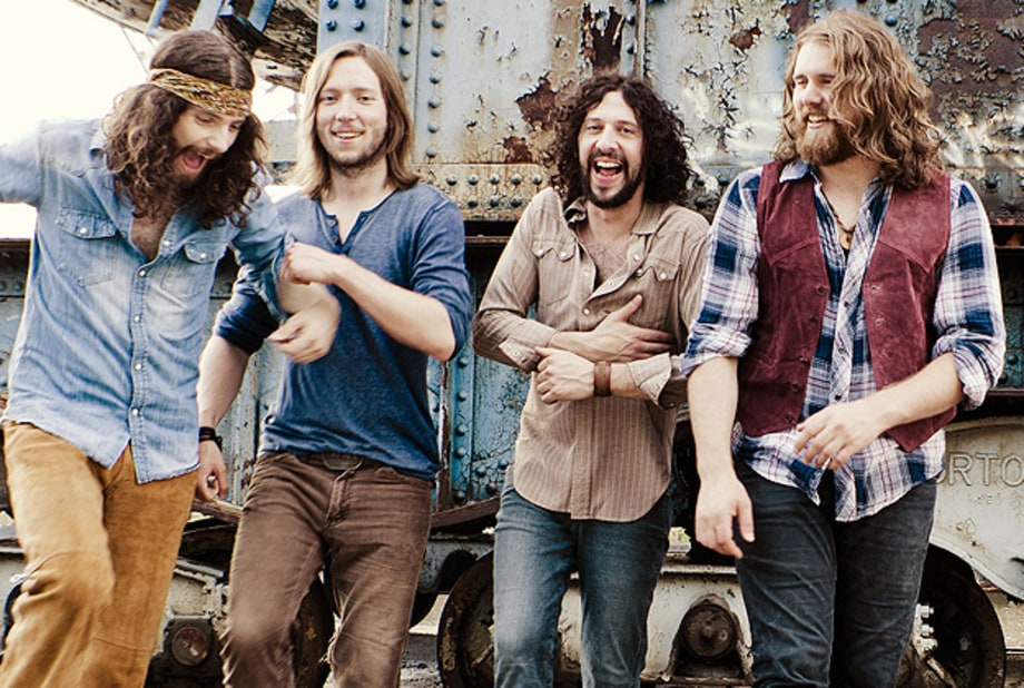 The Sheepdogs' Rolling Stone Cover Shoot