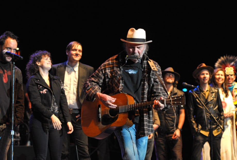 Photos: Neil Young, Arcade Fire, Mumford & Sons and More at the Bridge School Benefit