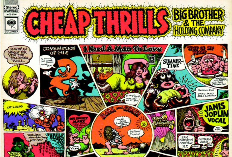 'R. Crumb: The Complete Record Cover Collection'