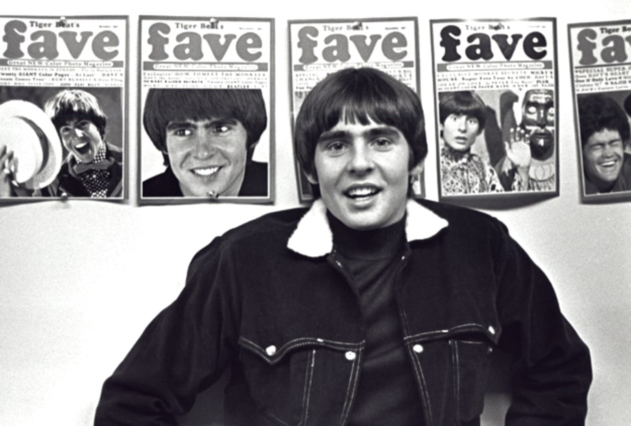 Davy Jones Through the Years