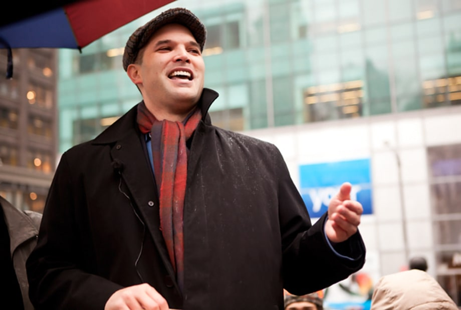Matt Taibbi Speaks at Occupy Wall Street