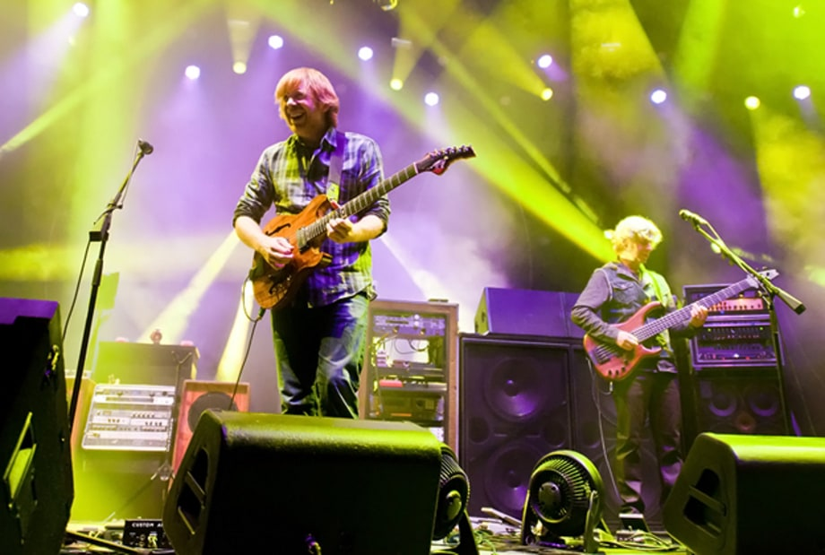 Phish Take on Atlantic City