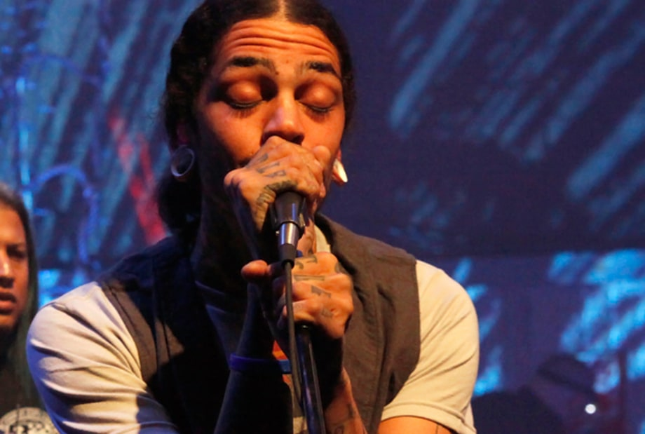Behind the Scenes of Gym Class Heroes' 'Unplugged' Show