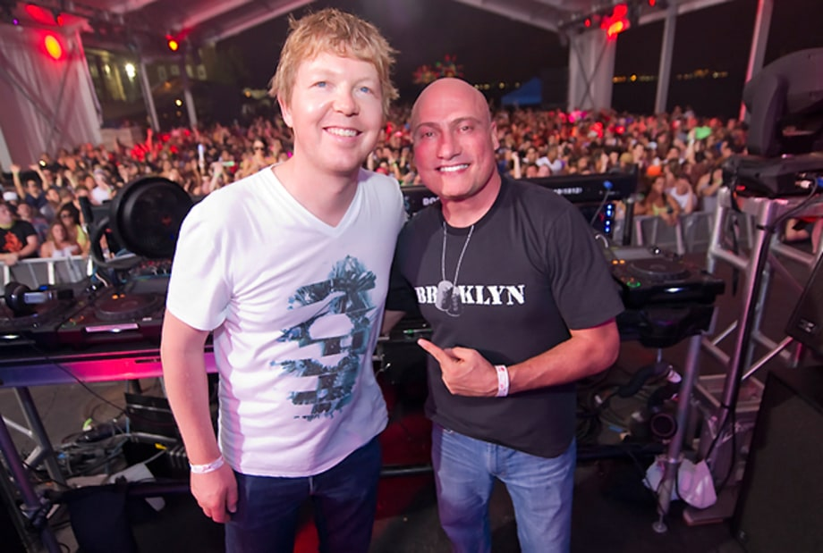 John Digweed and Danny Tenaglia Light Up Governor's Island