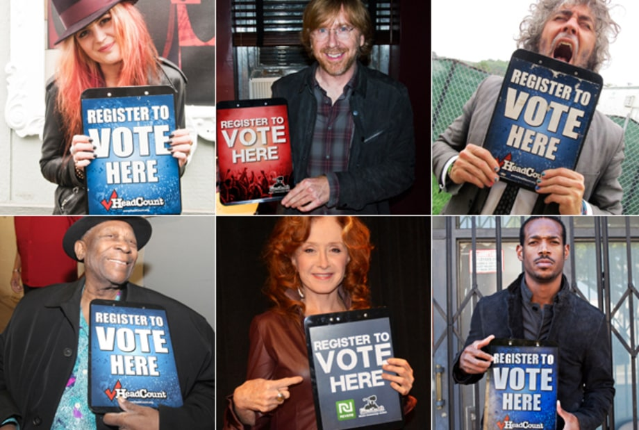 Stars Support National Voter Registration Day