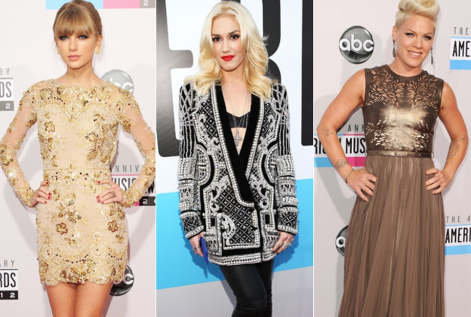 2012 American Music Awards: Live From the Red Carpet