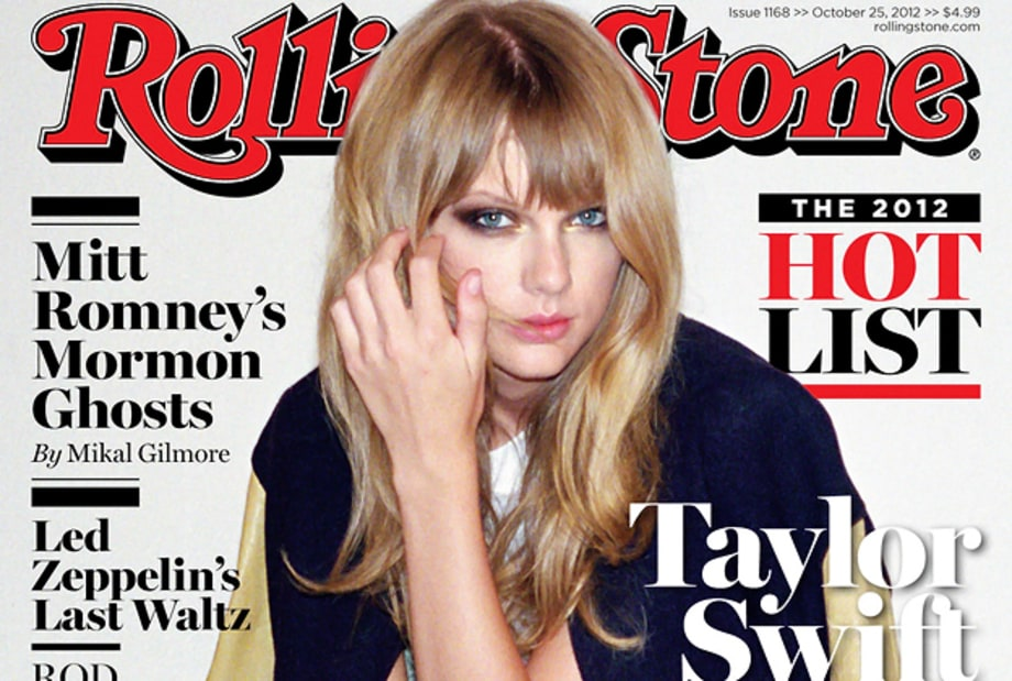 Taylor Swift on the Cover of Rolling Stone