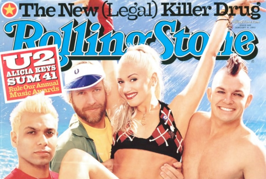 No Doubt on the Cover of Rolling Stone