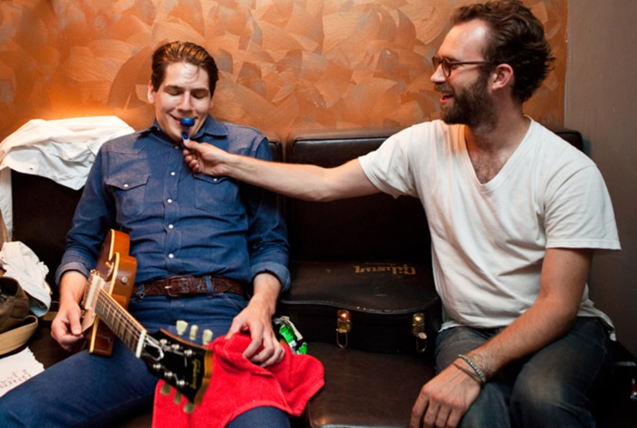 Get a Look at White Denim's Pre-Show Rituals