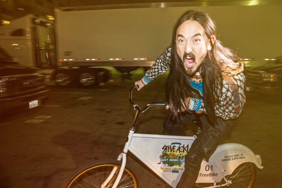 Steve Aoki: A Night in the Life