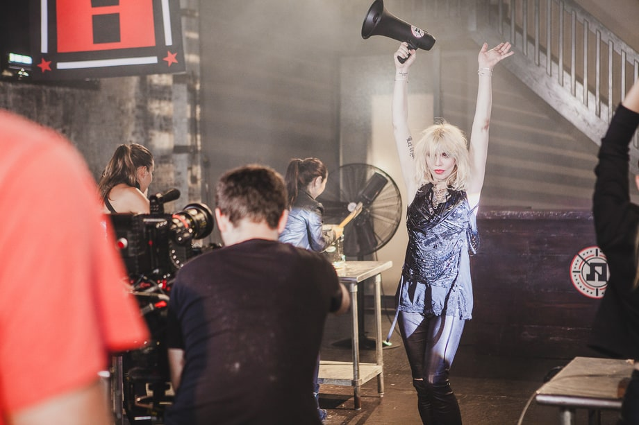 Behind Courtney Love & Fall Out Boy's Ultra-Violent 'Rat a tat' Video
