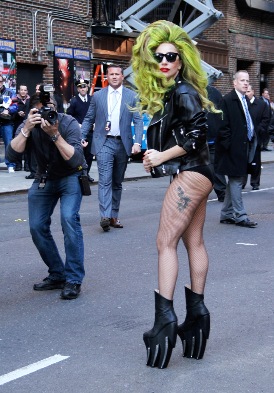 Sans Pants: A Recent History of Lady Gaga's Bottomless Resurrection